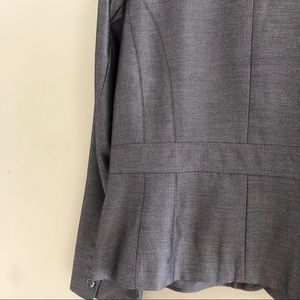 Ann Taylor Jackets & Coats - Ann Taylor Fitted Like New Gray Suit Jacket Sz 16
